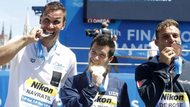 Michal Navratil, Steve Lo Bue y Alessandro De Rose.