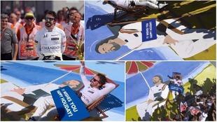 Fernando Alonso, feliz tras el GP de Hungría