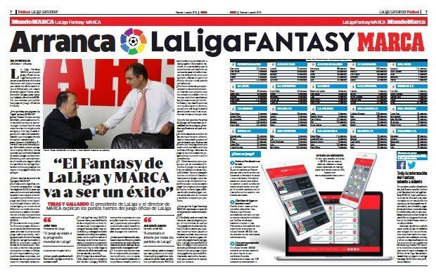 El 5 de agosto de 2016 nació LaLiga Fantasy MARCA.