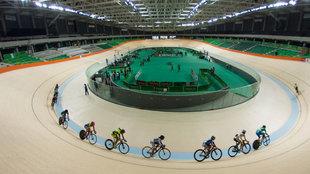 El velódromo del Parque Olímpico de Río de Janeiro