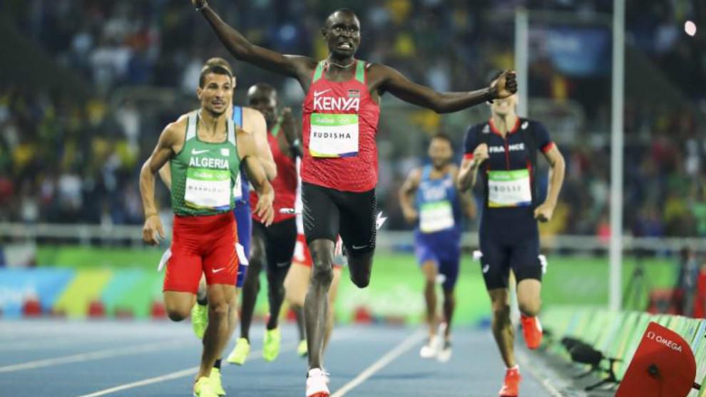 David Rudisha gana los 800 metros en Río 2016