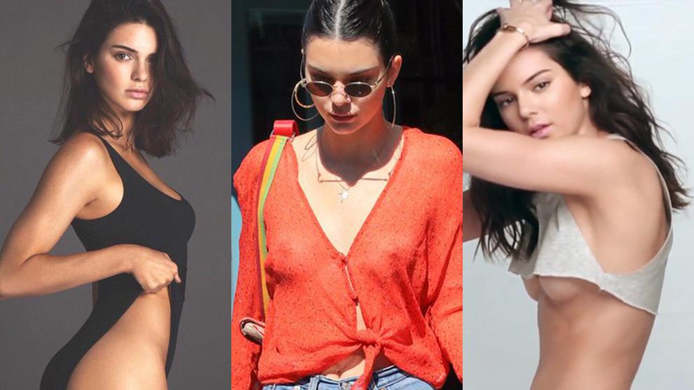 Kendall Jenner, sin ropa interior por Nueva York