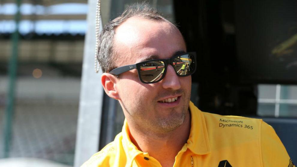 Robert Kubica, en Hungaroring