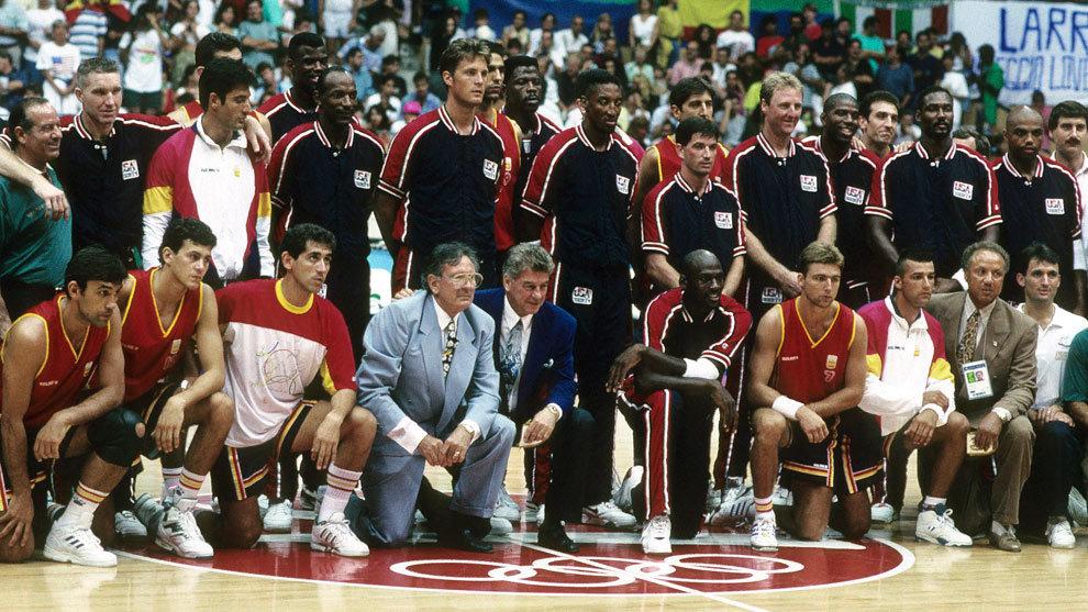 La selección española y el Dream Team