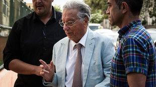 Juan Padrón es escoltado por la Guardia Civil