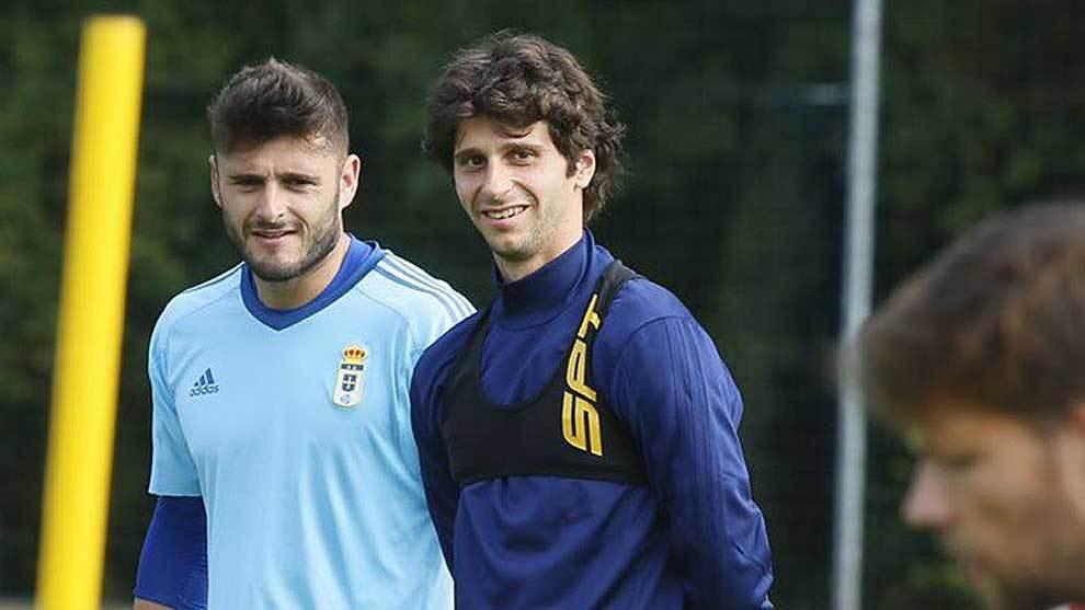 Fabbrini, sonriente junto a Juan Carlos en uno de sus primeros...