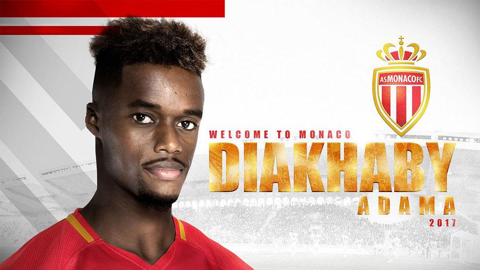 Adama Diakhaby, nuevo jugador del Mónaco.