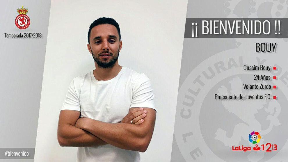 Ouasim Bouy, nuevo jugador de la Cultural Leonesa.