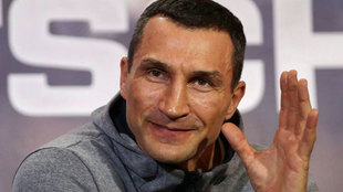 Wladimir Klitschko, en abril de 2017.