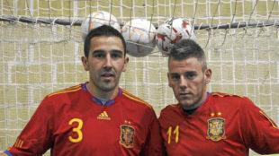 Jos� Ruiz y Miguelin, con la camiseta de la selecci�n espa�ola
