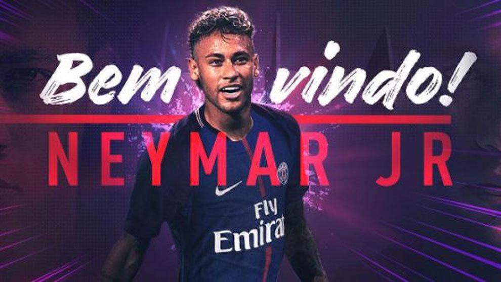 FC Barcelona  Neymar ficha por el Paris Saint Germain 1ef763f7f903a