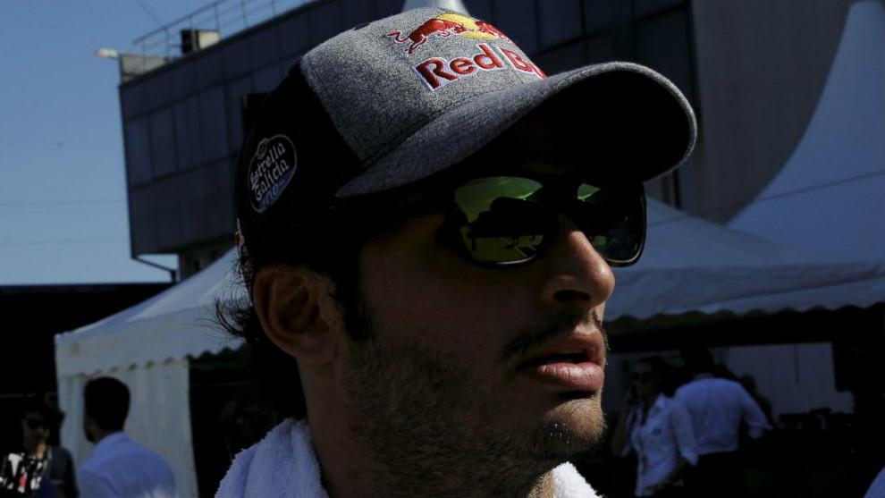 Sainz, en el GP de Hungría