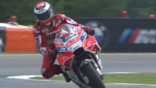 Imagen del nuevo carenado de la Ducati de Lorenzo