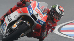 Jorge Lorenzo, en Brno.