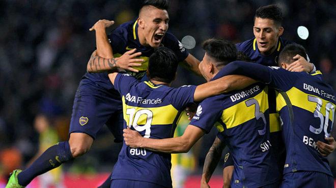 Boca Juniors, último campeón de la Liga argentina.