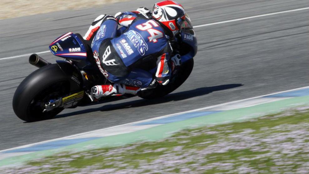 Mattia Pasini, piloto de Moto2