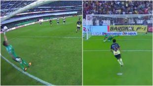 Romero fall� a lo Panenka para el Am�rica, pero Cecilio Dom�nguez...