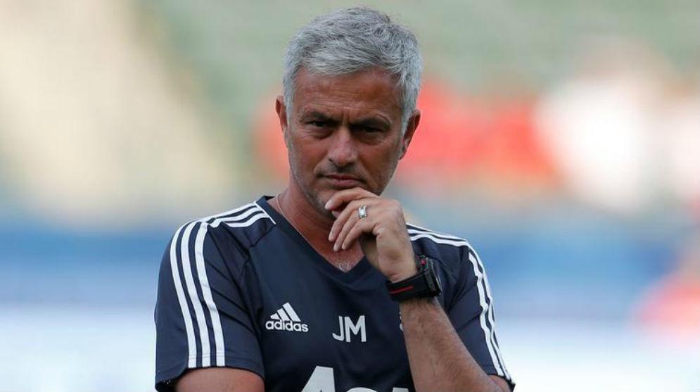 Mourinho durante la pretemporada en Estados Unidos