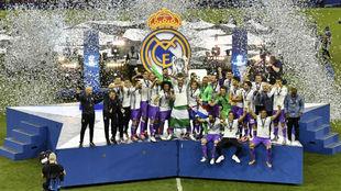 El Madrid celebra en Cardiff su duodécimo título de Champions League