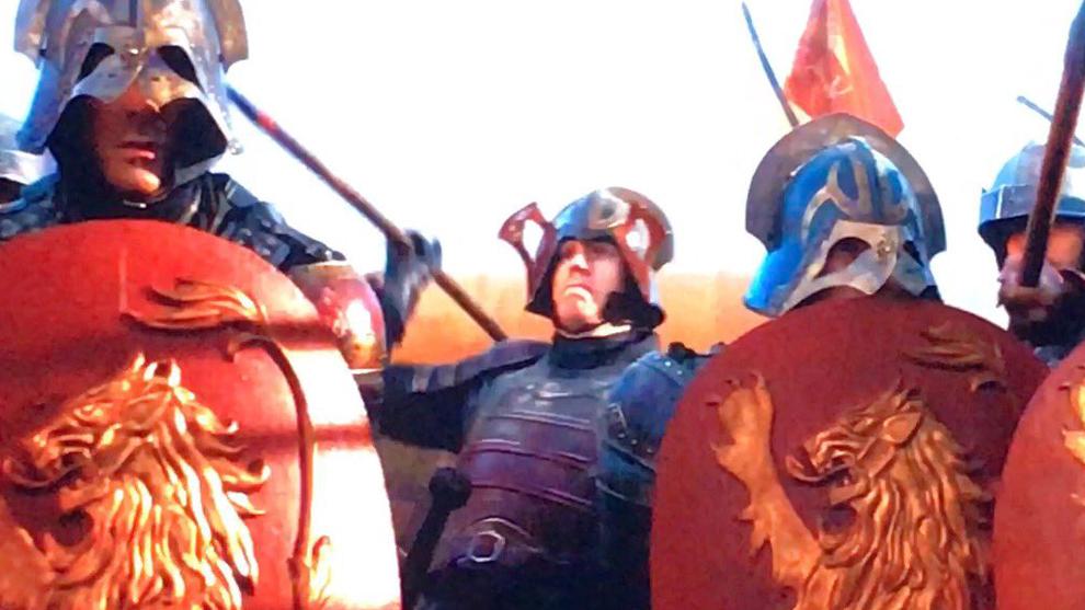 Noah Syndergaard (Mets) en su cameo en la serie Juego de Trono