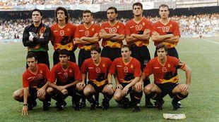 La selección española de fútbol se proclamó campeona olímpica....