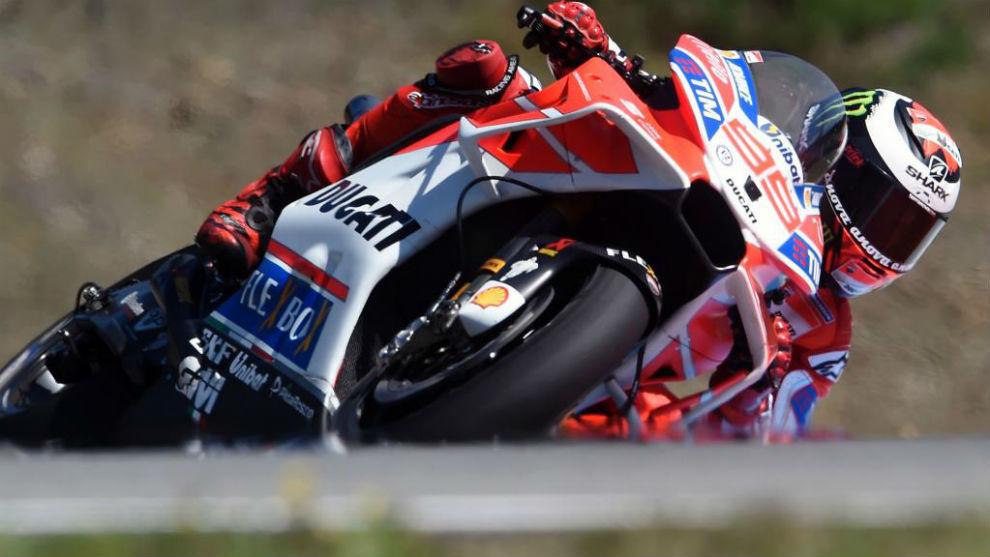 Jorge Lorenzo, en Brno