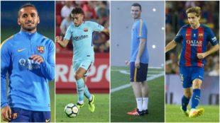 Douglas, Munir, Vermaelen y Samper no cuentan para Valverde