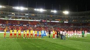 Necaxa y Morelia se enfrentan en Liga MX.
