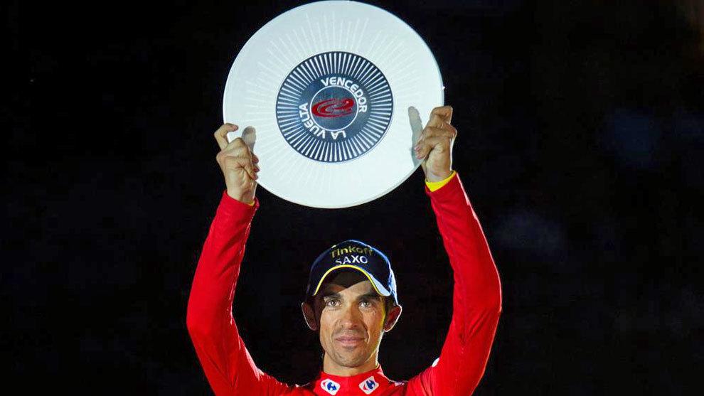 Contador, tras su victoria en La Vuelta 2014