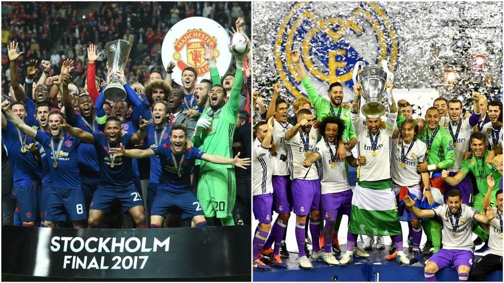 Manchester United campeón de la Europa League y Real Madrid campeón...