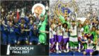 Manchester United campe�n de la Europa League y Real Madrid campe�n...