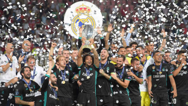 2017 Supercopa de Europa REAL MADRID