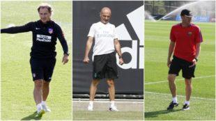 El 'profe' Ortega, Pintus y Jos� Antonio Pozanco 'Ros' son los...