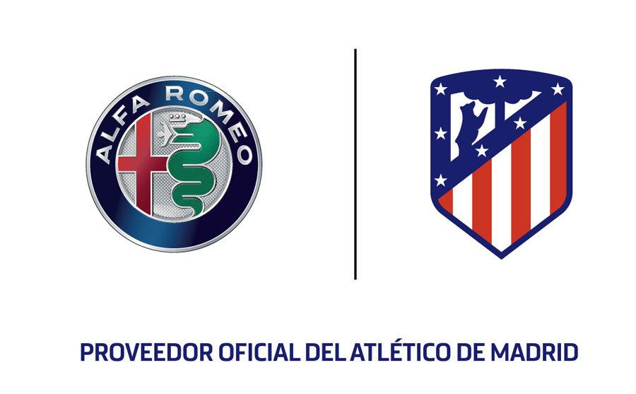 Acuerdo de patrocinio entre Alfa Romeo y el Atletico de Madrid