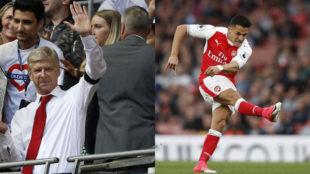 Wenger y Alexis