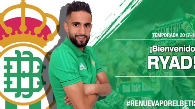 Boudebouz, nuevo jugador del Betis