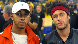 Hamilton y Neymar.