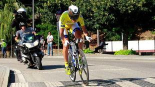Gustavo Veloso gan� la Vuelta a Portugal en 2014.