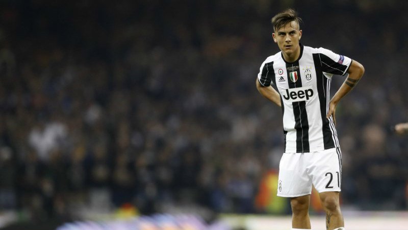 Paulo Dybala, nuevo 10 de la Juventus