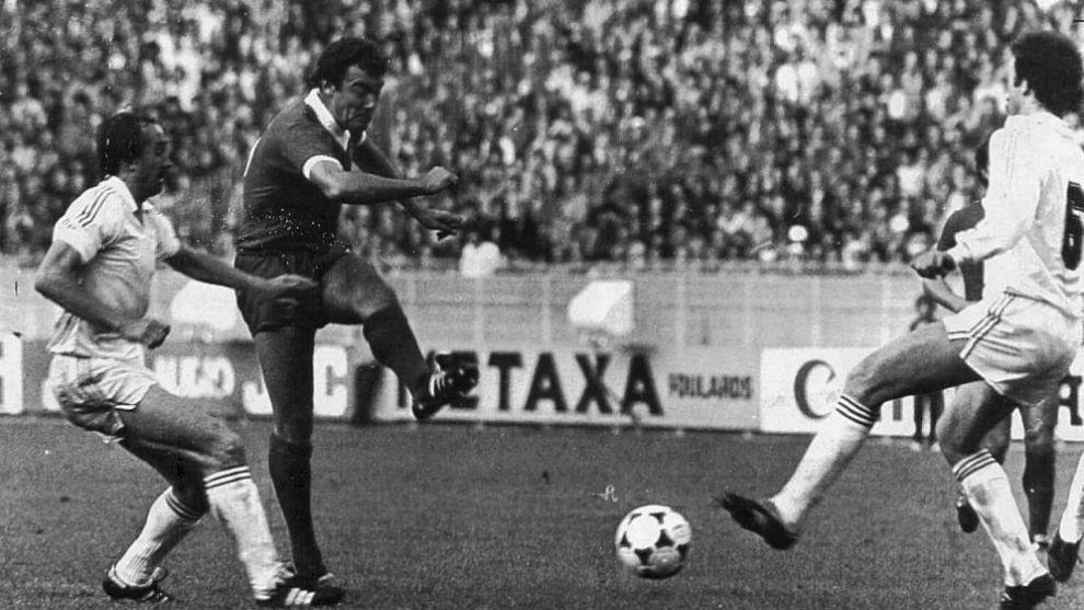 Real Madrid-Liverpool, final de Copa de Europa de la temporada 80-81