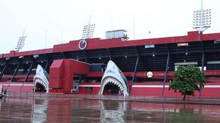 El huracán Franklin tocó el puerto de Veracruz