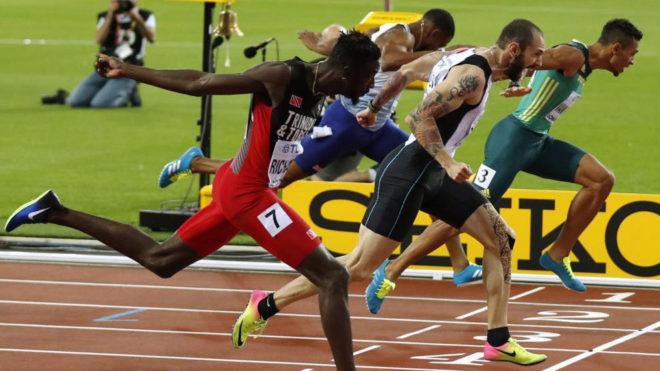 Final ajustadísimo en los 200 metros que se acabó llevando Guliyev.