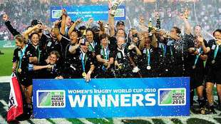 La selección femenina de Nueva Zelanda conquistó en...