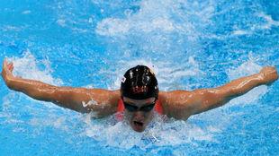 Mireia logra su primera medalla en la Copa del Mundo de Eindhoven