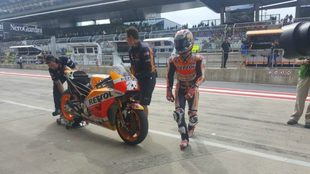 Pedrosa, en el Red Bull Ring.