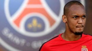 Fabinho (23), previo al encuentro por la Supercopa de Francia entre el...