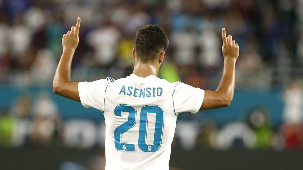 Asensio always scores in his Real Madrid tournament debuts | MARCA ...