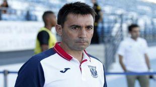 Asier Garitano en el Alfredo Di Stefano