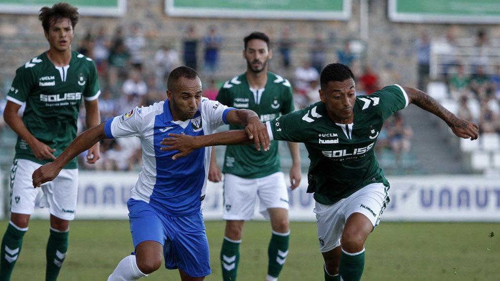 Toledo y Leganés en un partido amistoso de pretemporada.