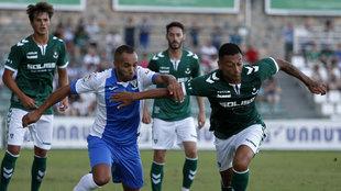 Toledo y Legan�s en un partido amistoso de pretemporada.
